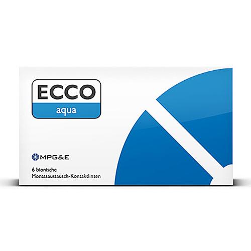 ECCO Aqua Kontaktlinsen 6er Box MPG&E